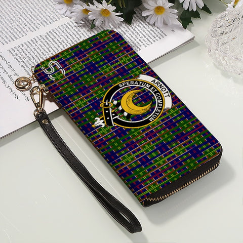 Image of Arnott Crest Tartan Zipper Wallet™