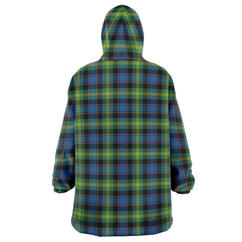 Watson Ancient Snug Hoodie - Unisex Tartan Plaid Back
