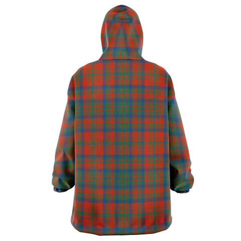 Matheson Ancient Snug Hoodie - Unisex Tartan Plaid Back