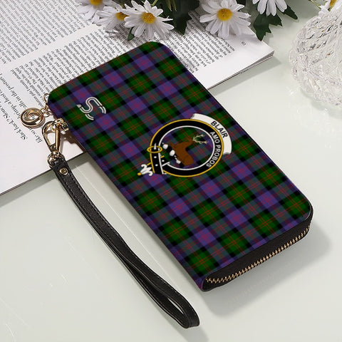 Blair Modern Crest Tartan Zipper Wallet™