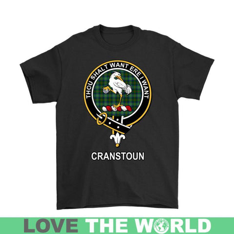 Image of Cranstoun Clan Tartan T-Shirt | Over 500 Tartans and 300 Clans | Love Scotland