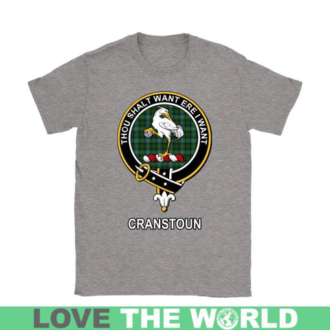 Cranstoun Clan Tartan T-Shirt | Over 500 Tartans and 300 Clans | Love Scotland