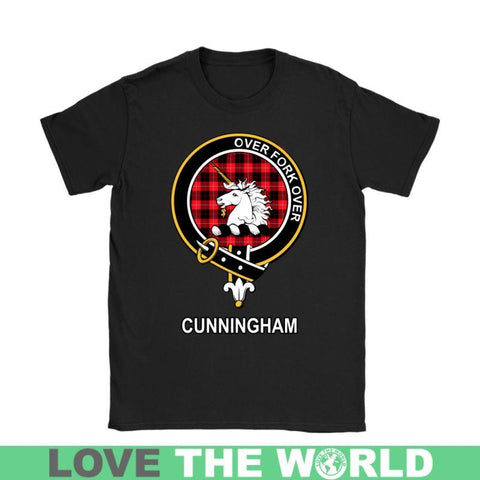 Cunningham Clan Tartan T-Shirt | Over 500 Tartans and 300 Clans | Love Scotland