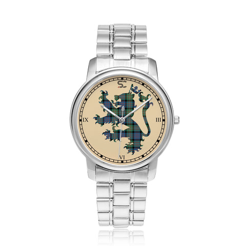 Image of MacDonnell of Glengarry Ancient Tartan Watch Lion Scottish Vesion K7