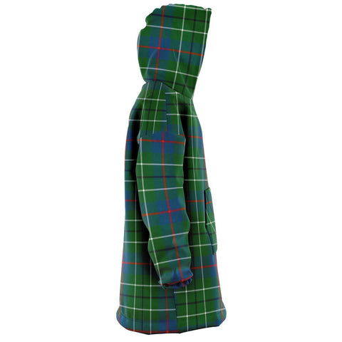 Duncan Ancient Snug Hoodie - Unisex Tartan Plaid Right