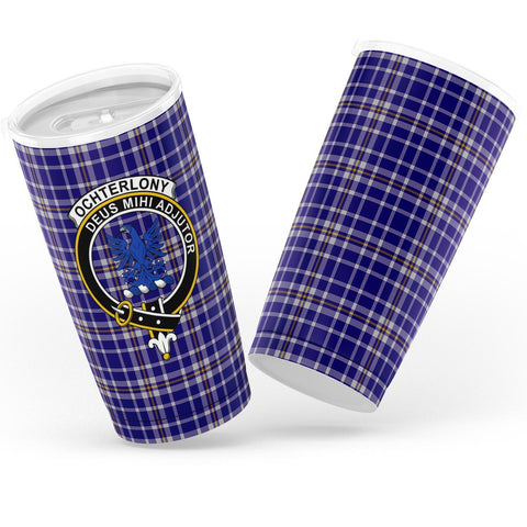 Image of Ochterlony Tartan Tumbler, Scottish Ochterlony Plaid Insulated Tumbler - BN