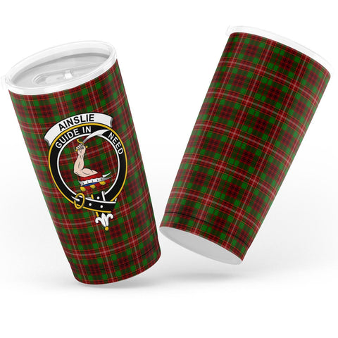 Ainslie Tartan Tumbler, Scottish Ainslie Plaid Insulated Tumbler - BN