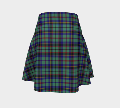 Tartan Flared Skirt - Stevenson |Over 500 Tartans | Special Custom Design | Love Scotland