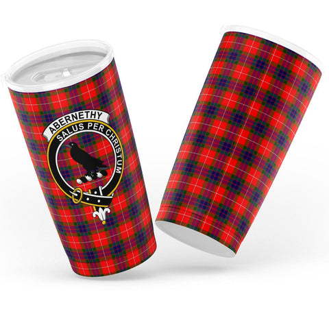 Abernethy Tartan Tumbler, Scottish Abernethy Plaid Insulated Tumbler - BN