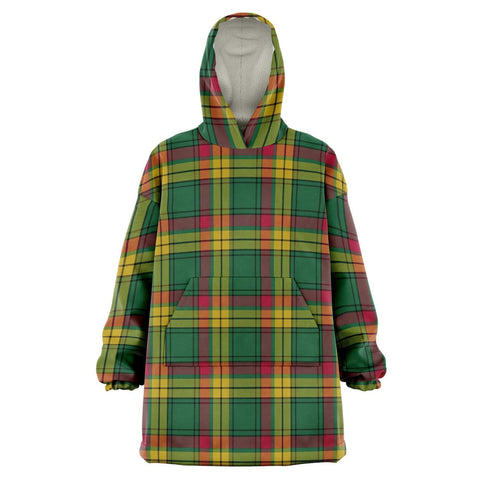Image of MacMillan Old Ancient Snug Hoodie - Unisex Tartan Plaid Front