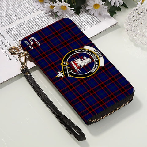 Home Modern Crest Tartan Zipper Wallet™