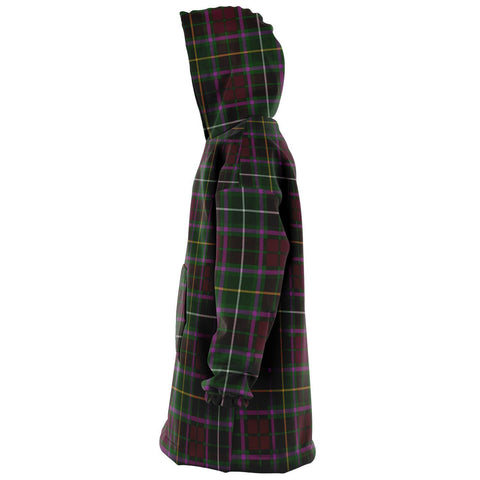 Crosbie Snug Hoodie - Unisex Tartan Plaid Left