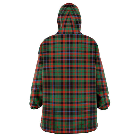 Cumming Hunting Ancient Snug Hoodie - Unisex Tartan Plaid Back