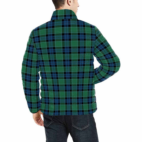 Graham of Menteith Ancient Clan Scotland Tartan  Men's Lightweight Bomber Jacket K9