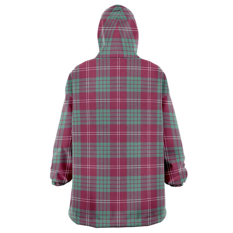 Image of Crawford Ancient Snug Hoodie - Unisex Tartan Plaid Back