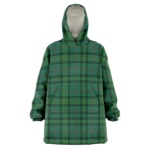 Ross Hunting Ancient Snug Hoodie - Unisex Tartan Plaid Front