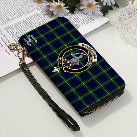 Bannerman Crest Tartan Zipper Wallet™