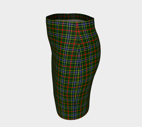 Tartan Fitted Skirt - Bisset | Special Custom Design
