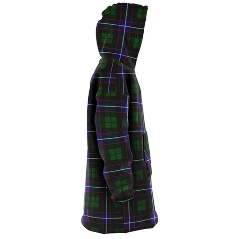 Image of Russell Modern Snug Hoodie - Unisex Tartan Plaid Right