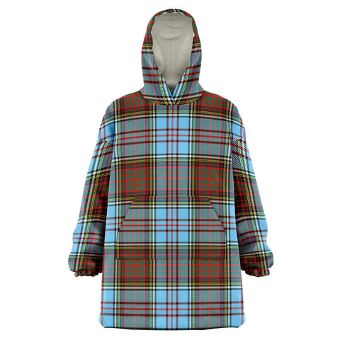 Image of Anderson Ancient Snug Hoodie - Unisex Tartan Plaid Front