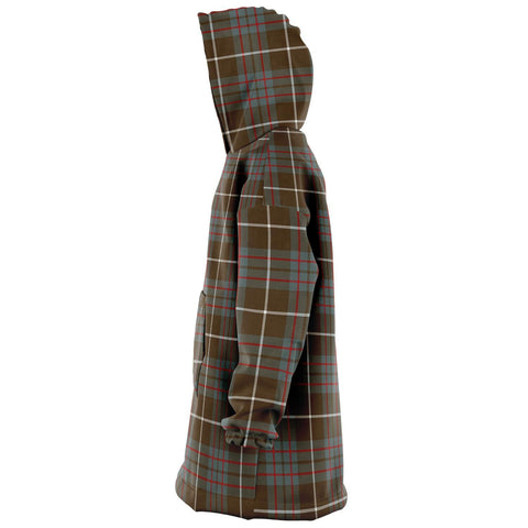 MacIntyre Hunting Weathered Snug Hoodie - Unisex Tartan Plaid Left