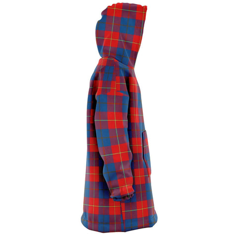 Galloway Red Snug Hoodie - Unisex Tartan Plaid Right
