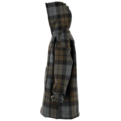 MacKay Weathered Snug Hoodie - Unisex Tartan Plaid Left