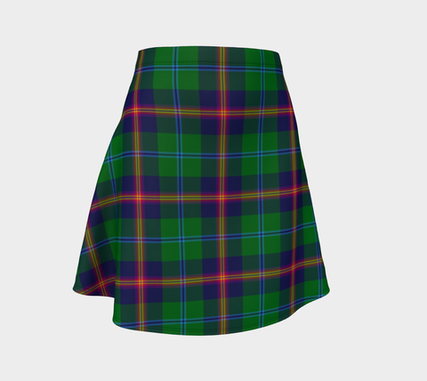 Image of Tartan Flared Skirt - Young Modern A9