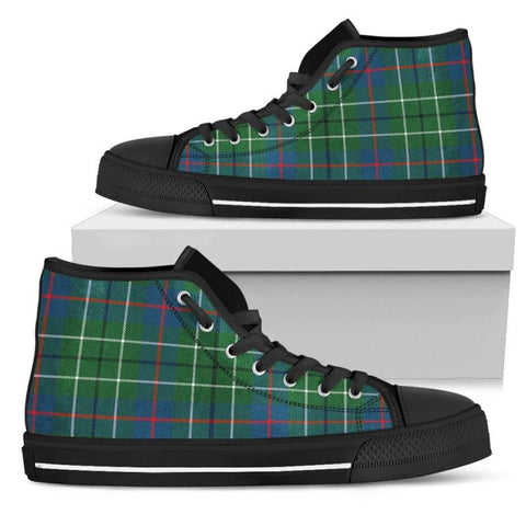 Tartan Canvas Shoes - Duncan Ancient High Top | Over 500 Tartans