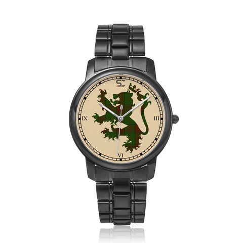 Image of Maxwell Hunting Tartan Watch Lion Scottish Vesion K7
