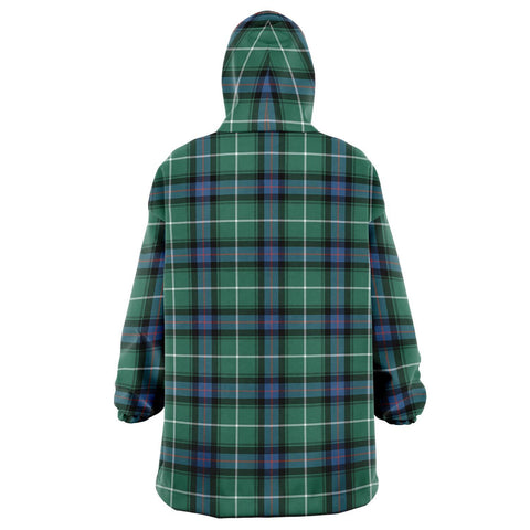 MacDonald of the Isles Hunting Ancient Snug Hoodie - Unisex Tartan Plaid Back
