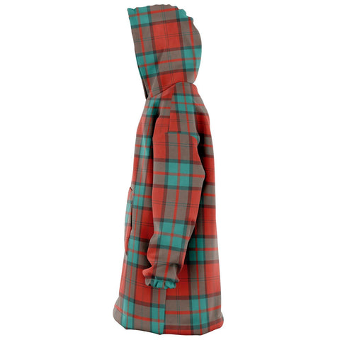 Image of Dunbar Ancient Snug Hoodie - Unisex Tartan Plaid Left