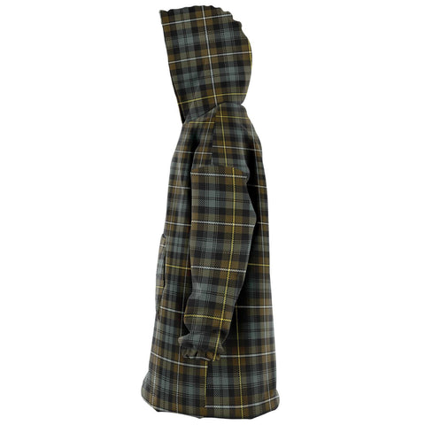 Campbell Argyll Weathered Snug Hoodie - Unisex Tartan Plaid Left