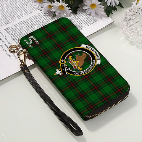 Beveridge Crest Tartan Zipper Wallet™