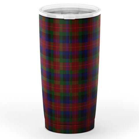 Tennant Tartan Tumbler, Scottish Tennant Plaid Insulated Tumbler - BN