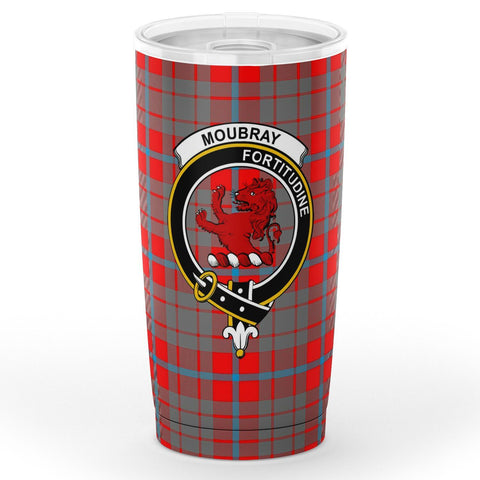 Image of Moubray Tartan Tumbler, Scottish Moubray Plaid Insulated Tumbler - BN