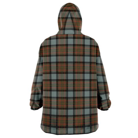 MacLaren Weathered Snug Hoodie - Unisex Tartan Plaid Back