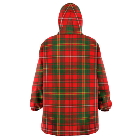 Image of Hay Modern Snug Hoodie - Unisex Tartan Plaid Back