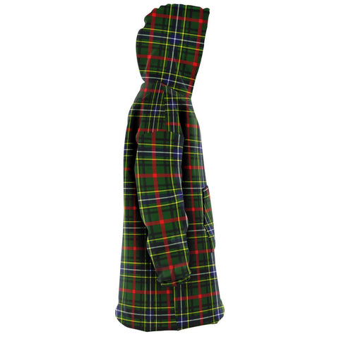 Bisset Snug Hoodie - Unisex Tartan Plaid Right
