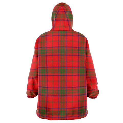 Ross Modern Snug Hoodie - Unisex Tartan Plaid Back