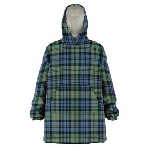 MacKinlay Ancient Snug Hoodie - Unisex Tartan Plaid Front