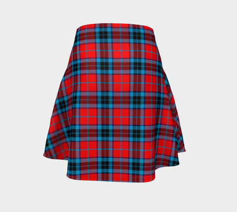 Tartan Flared Skirt - MacTavish Modern A9