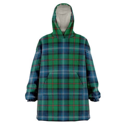 Image of Urquhart Ancient Snug Hoodie - Unisex Tartan Plaid Front