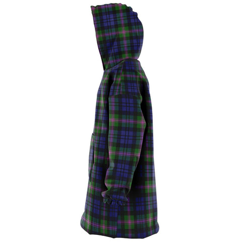 Image of Baird Modern Snug Hoodie - Unisex Tartan Plaid Left