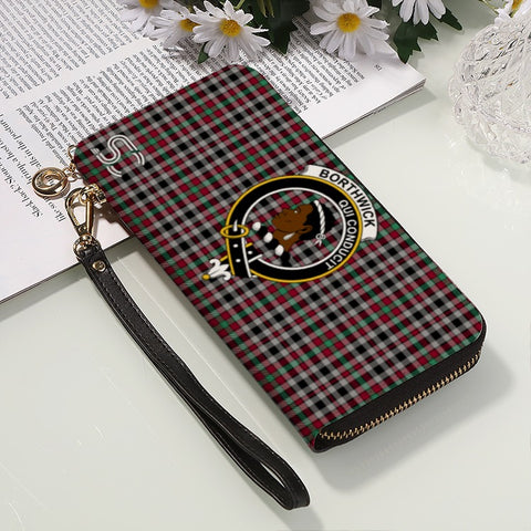 Borthwick Ancient Crest Tartan Zipper Wallet™