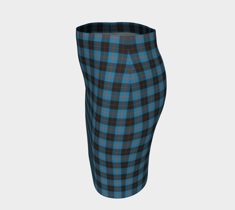Tartan Fitted Skirt - Angus Ancient | Special Custom Design
