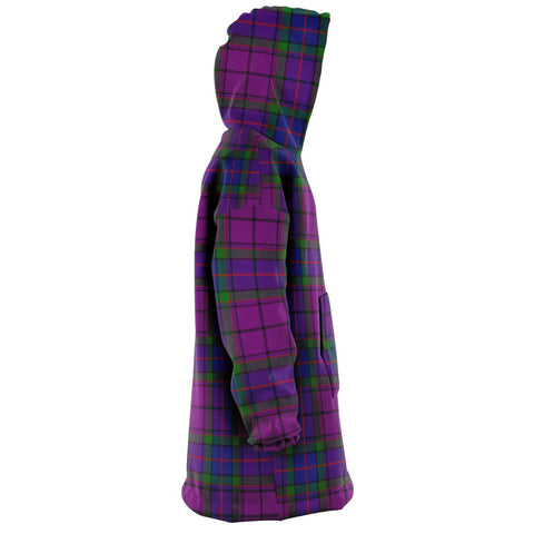 Wardlaw Modern Snug Hoodie - Unisex Tartan Plaid Right