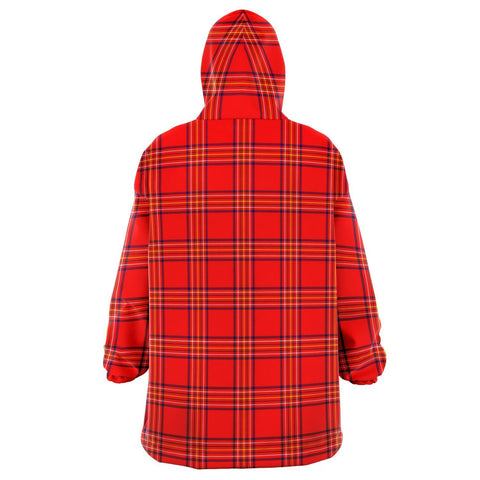 Burnett Modern Snug Hoodie - Unisex Tartan Plaid Back