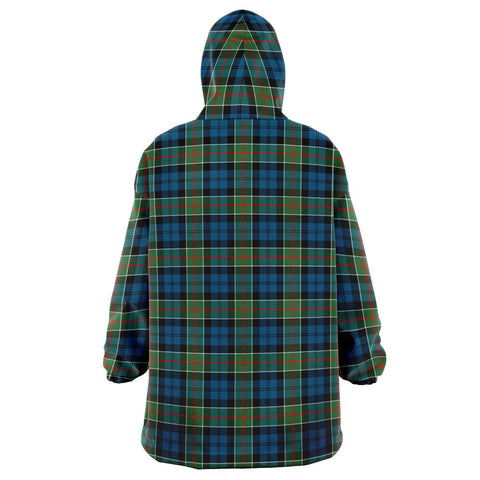 Colquhoun Ancient Snug Hoodie - Unisex Tartan Plaid Back