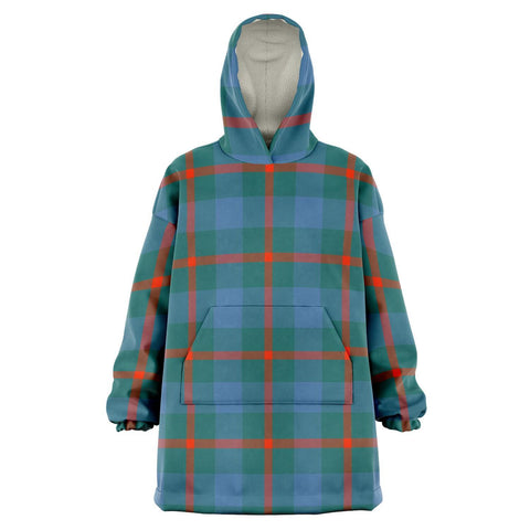 Image of Agnew Ancient Snug Hoodie - Unisex Tartan Plaid Front